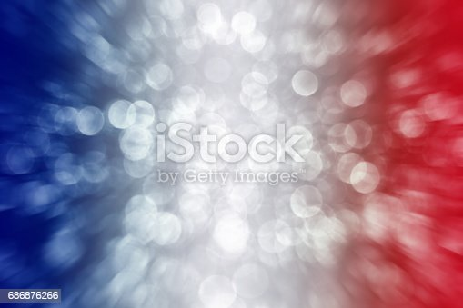 680789648 istock photo Patriotic Red White and Blue Exploding Background 686876266