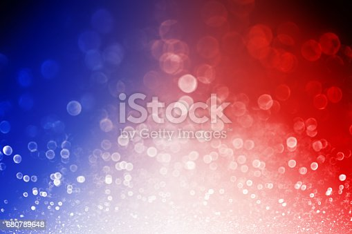 istock Patriotic Red White and Blue Explosion Background 680789648