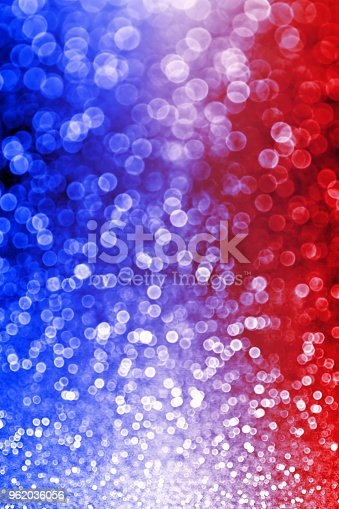 680789648 istock photo Patriotic Red White and Blue Lights Background 962036056