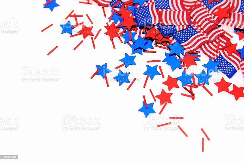 Patriotic Series stock photo