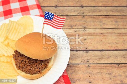 istock Patriotic Sloppy Joe 498443207