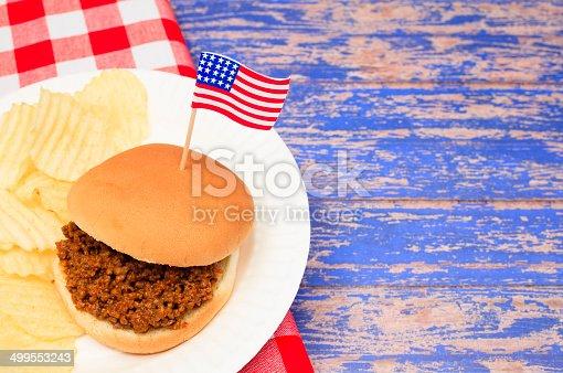 istock Patriotic Sloppy Joe 499553243