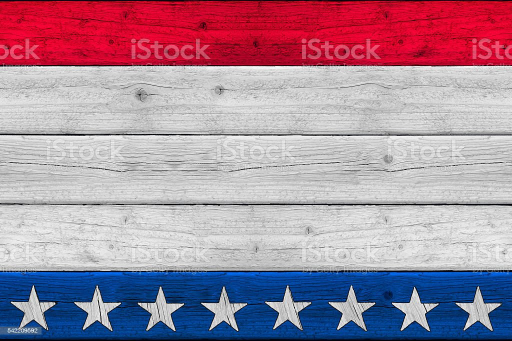Patriotic Stars and Stripes Old Glory Background stock photo