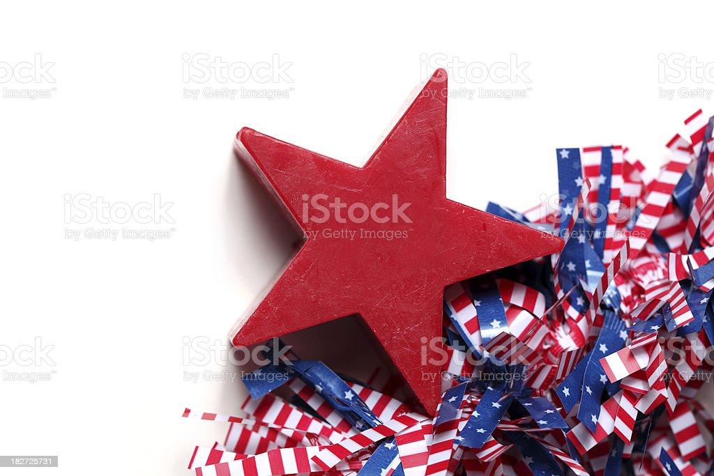 Patriotic theme stock photo