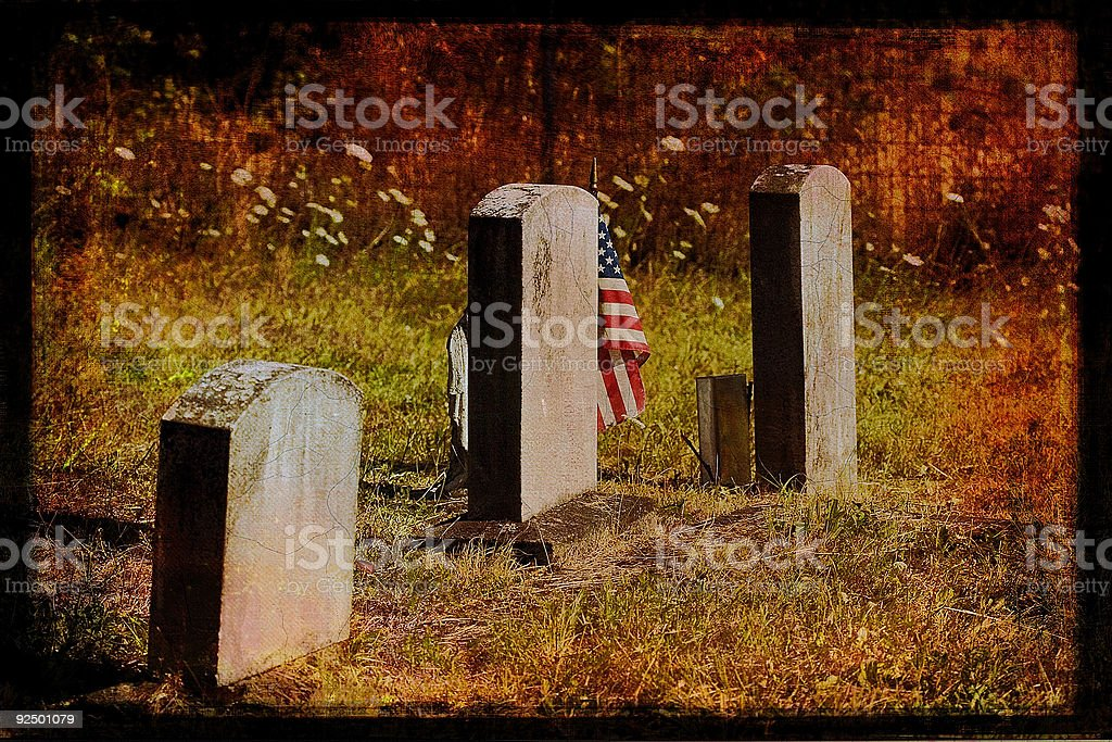 Patriotic Vision royalty-free stock photo