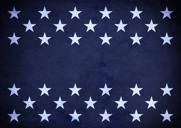 USA Patriotic wall texture background stock photo