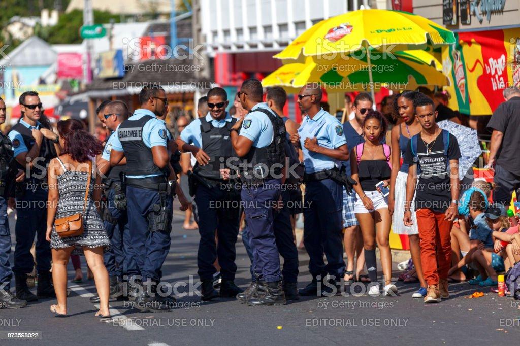 Patrouille de gendarmes - Photo