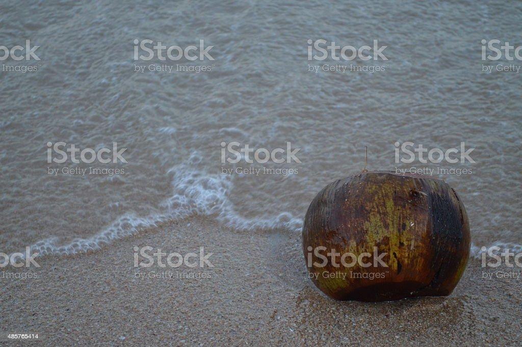 Pattaya Beach in Thailand stock photo