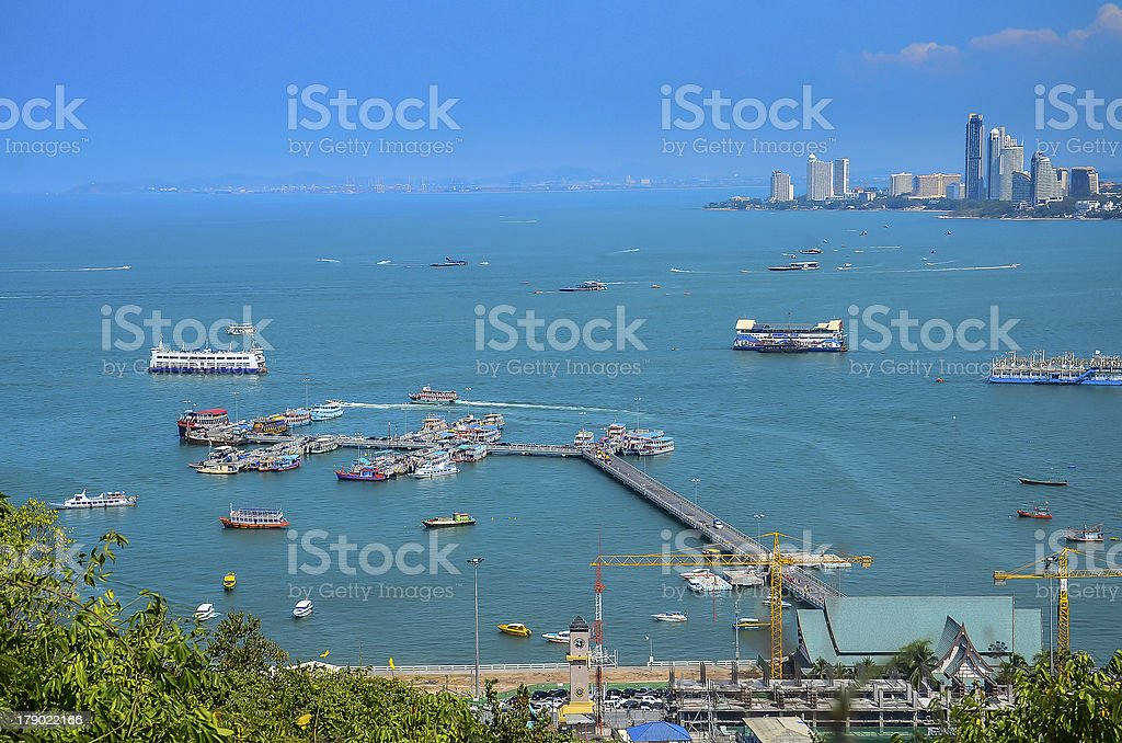Pattaya Beach royalty-free stock photo