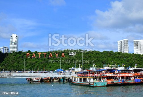 Pattaya City is popular in Thailand and Asia about night clubs and entertaintment. Pattaya is growing sea tourism.