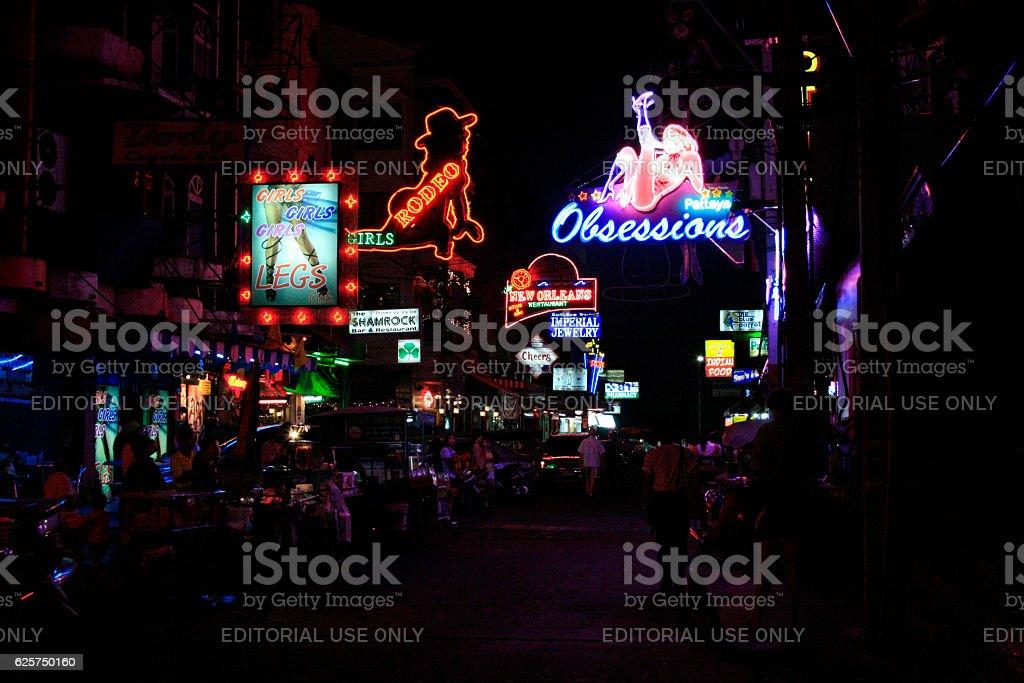 Pattayaland 2 stock photo