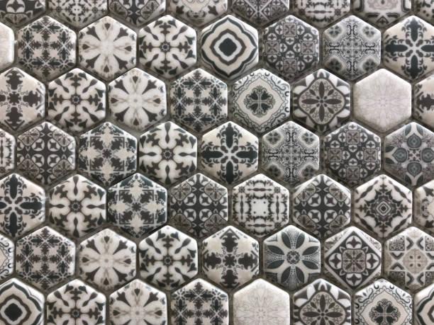 Muster KeramikFliesen ein Mosaik – Foto