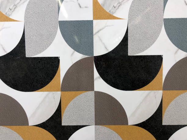 Pattern Ceramic tiles a mosaic stock photo