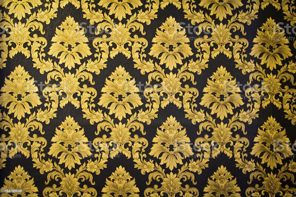 Muster an der Wand – Foto