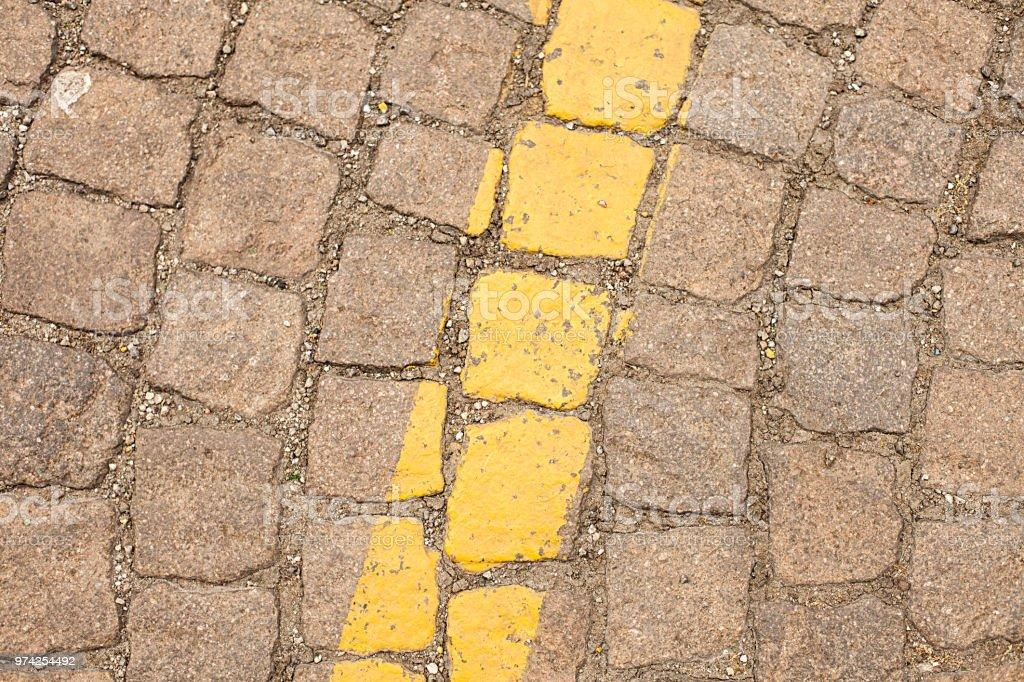 Pattern Di Materiale Per Pavimenti Esterni Stock Photo