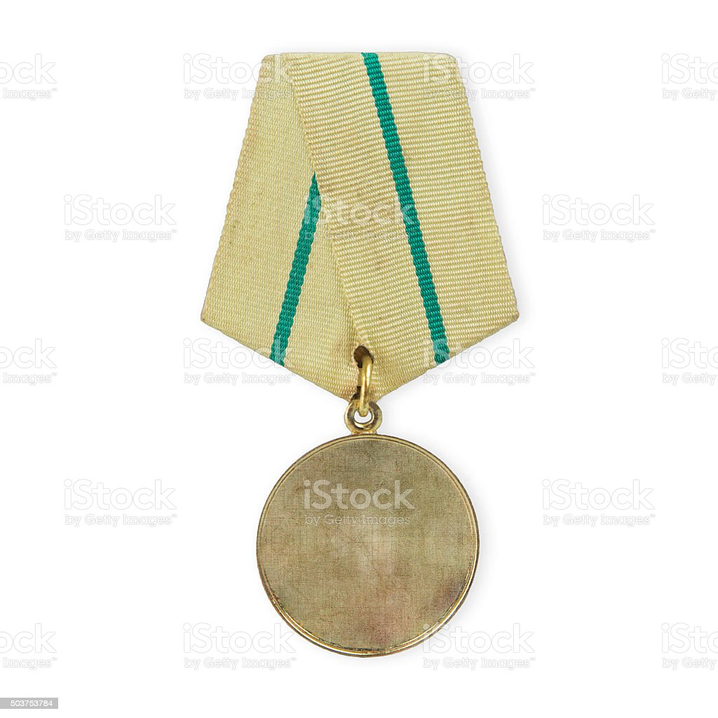 pattern medal stock photo