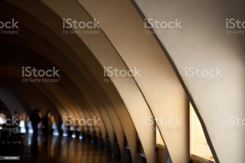 Pattern of archs stock photo