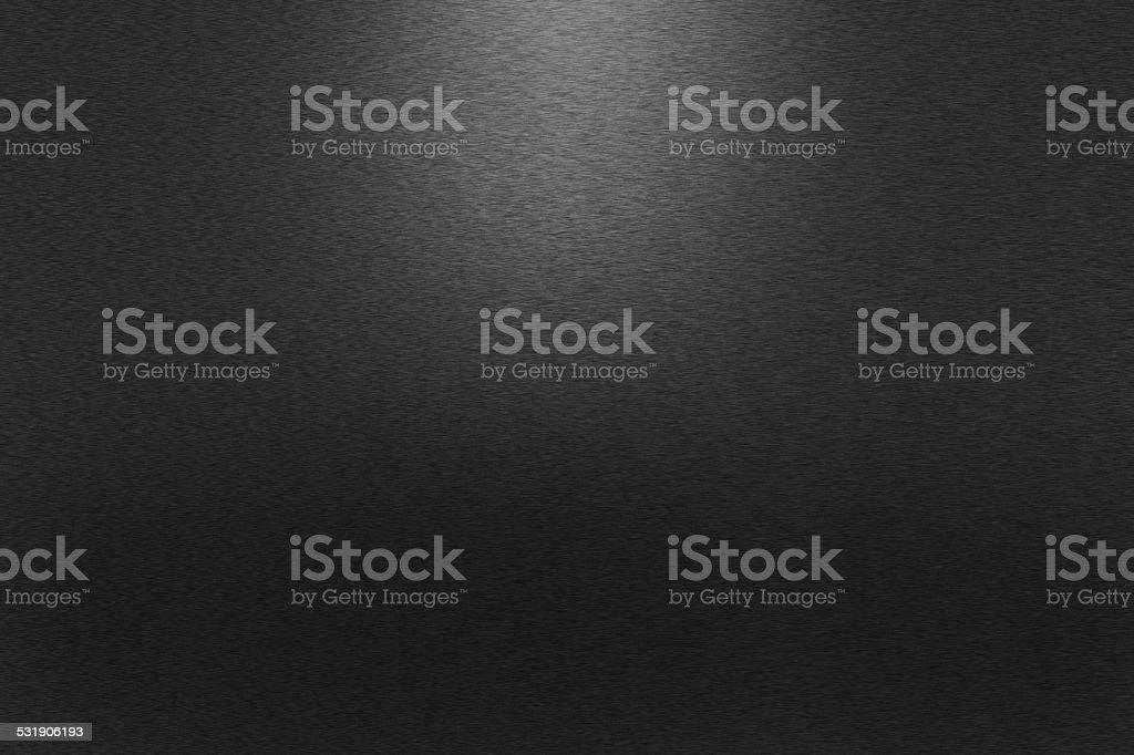 Pattern of black metal background stock photo