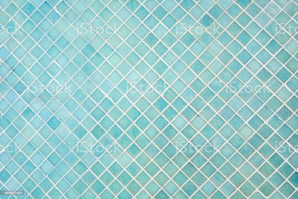 Muster von blue square Mosaik - Lizenzfrei 2015 Stock-Foto