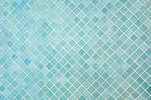 Muster Von Blue Square Mosaik Stockfoto und mehr Bilder von 2015