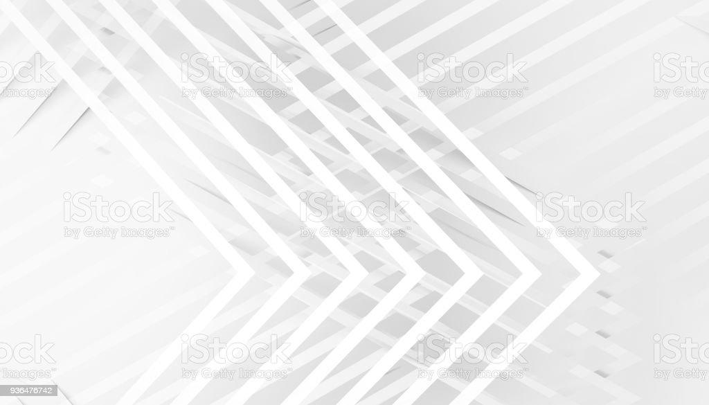 Muster der Ecken 3d render – Foto
