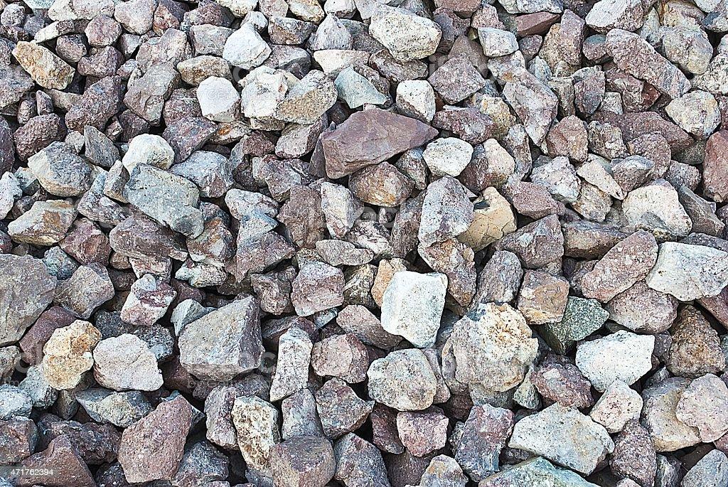 pattern of decorative slate stone ground surface