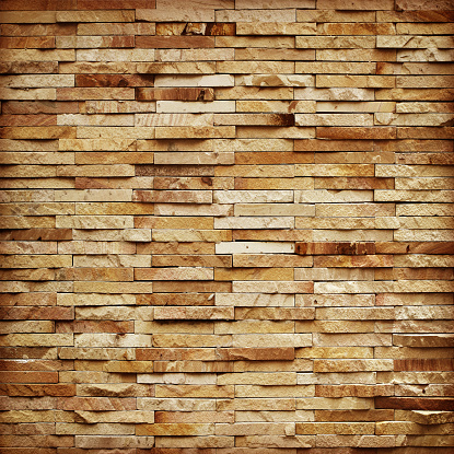 pattern of decorative slate stone wall surface