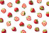 新鮮なイチゴのパターン