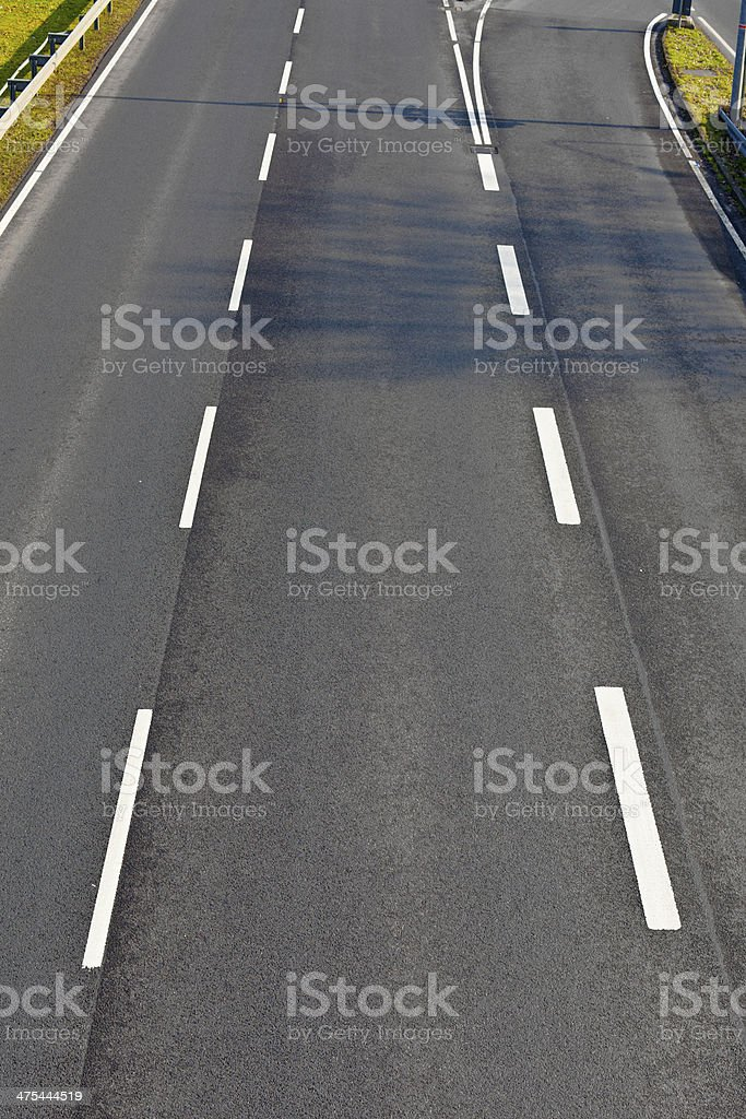 pattern of Highway royalty-free stock photo