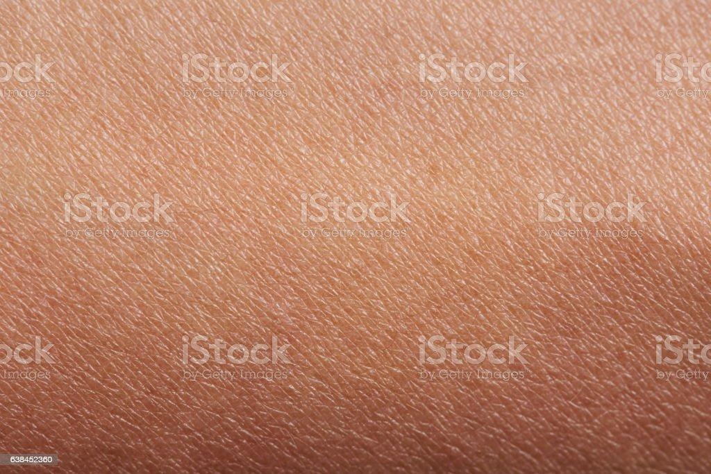 Pattern of human skin stock photo