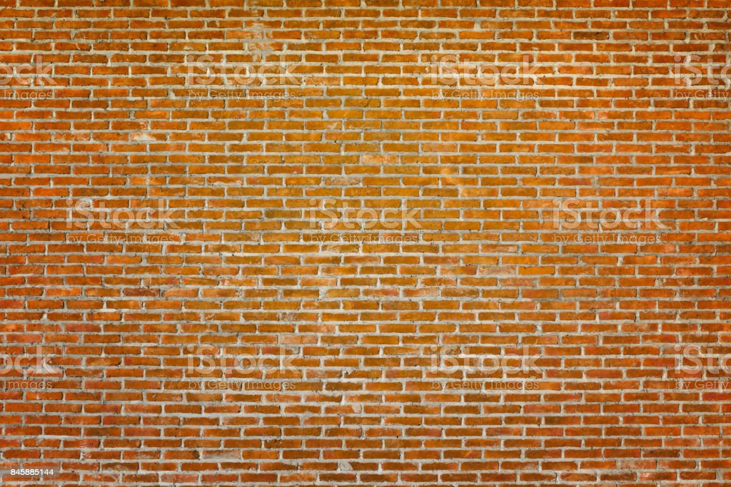 Pattern of old brick wall for background and textured, Seamless dirty brick wall background stock photo
