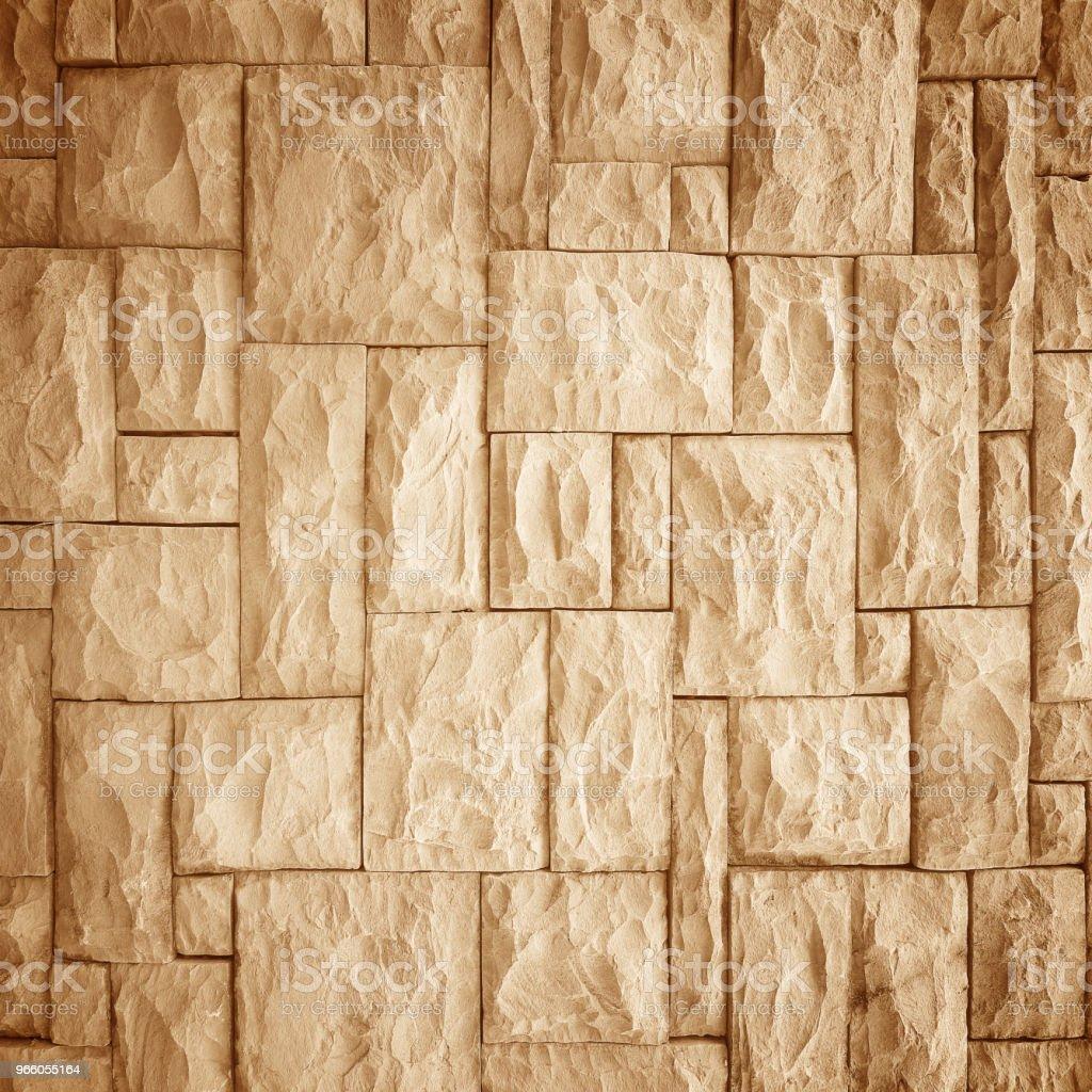 Mönster av gamla sten Wall dykt upp - Royaltyfri Abstrakt Bildbanksbilder