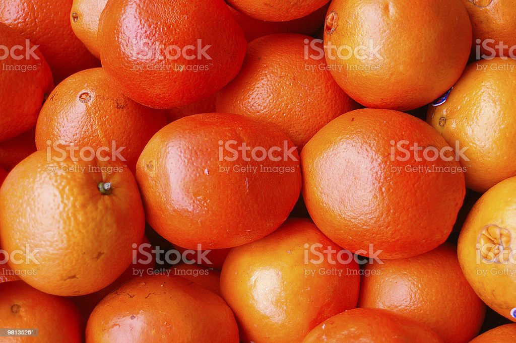 Pattern of oranges royalty-free stock photo