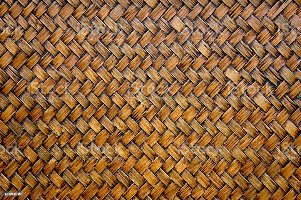 Texture of bamboo tray as background