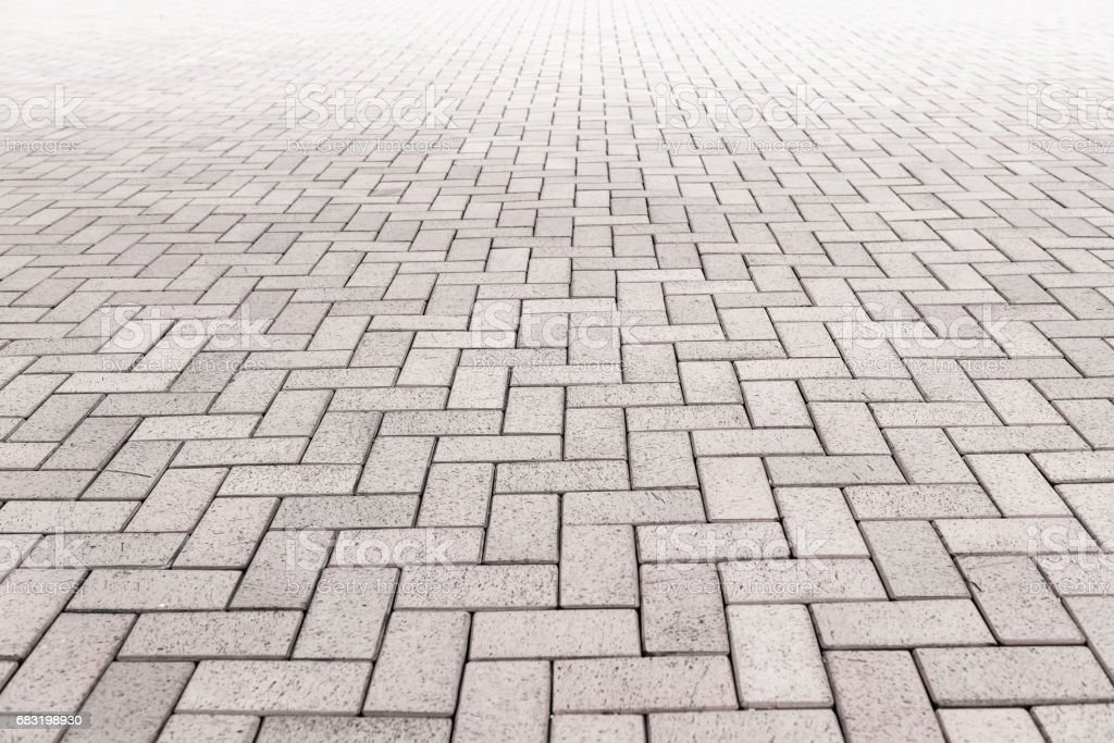 통로 콘크리트 블록 포장., 추상적인 배경 패턴입니다. royalty-free 스톡 사진