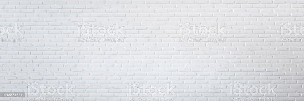 Modèle De Mur De Brique Blanche Pour Le Fond Et Panorama De Fond Mur Brique  Blanc