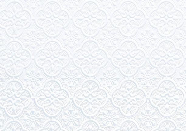 pattern on background corrugated glass - brokat stock-fotos und bilder