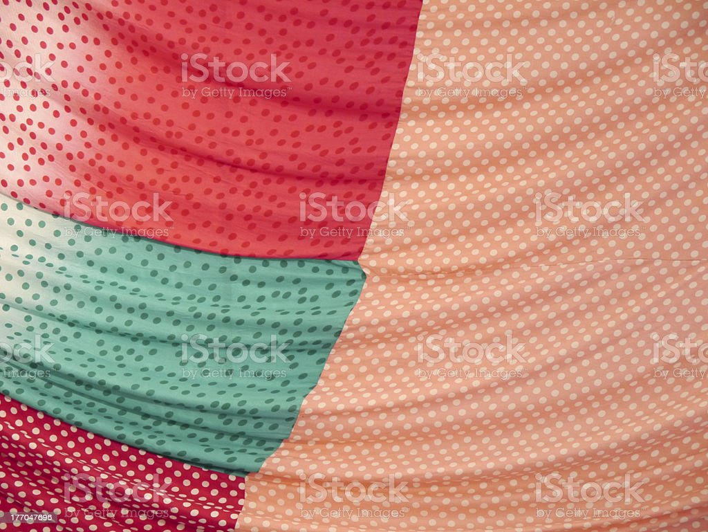 Pattern on the fabric royalty-free stock photo