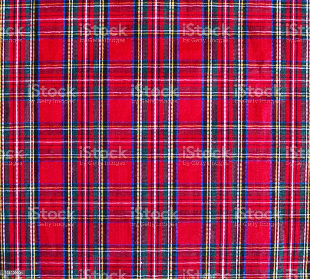 Pattern picnic tablecloth background stock photo