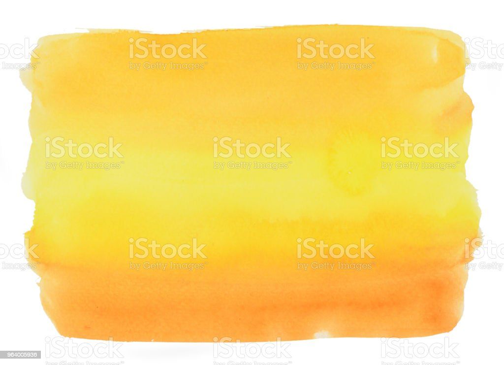 Pattern square of yellow and orange color on white background - Royalty-free Abstract Stock Photo