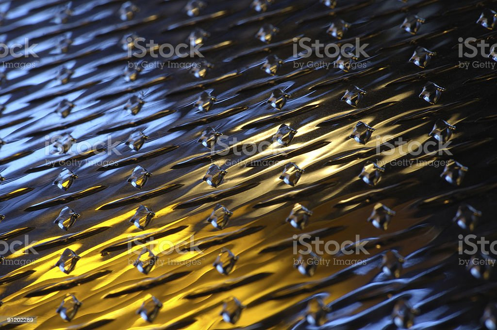Pattern Steel with Shallow Depth of Field stock photo