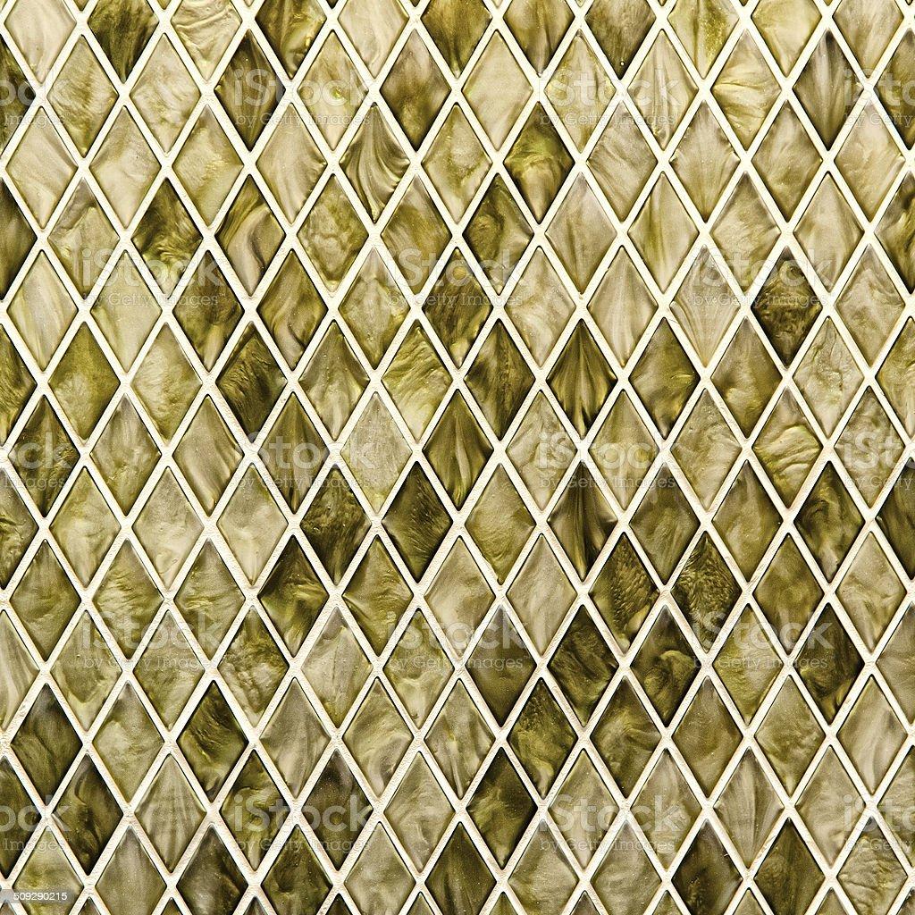 Pattern trapezoid mosaic stock photo