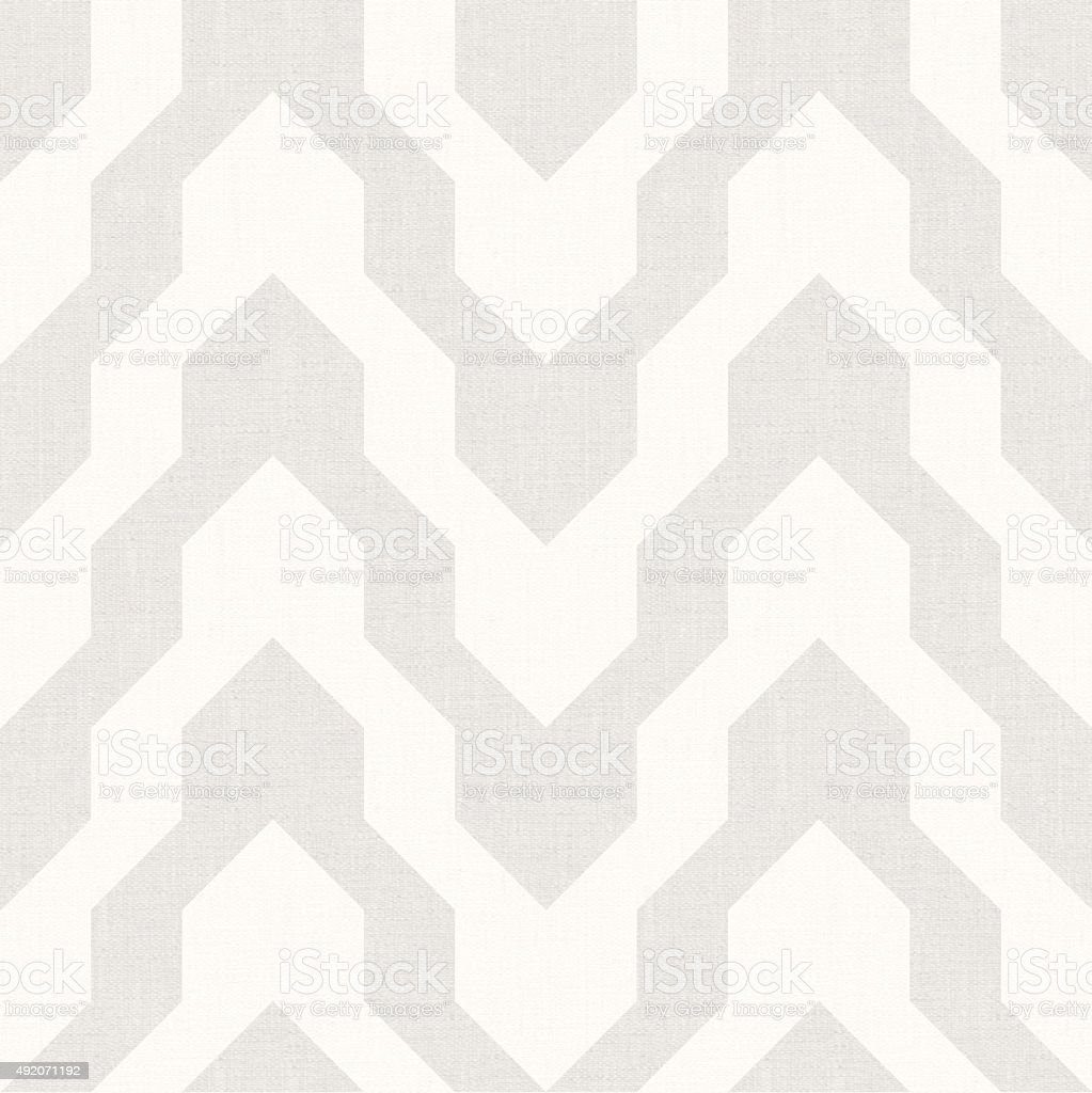 Pattern with zig zag in beige color stock photo