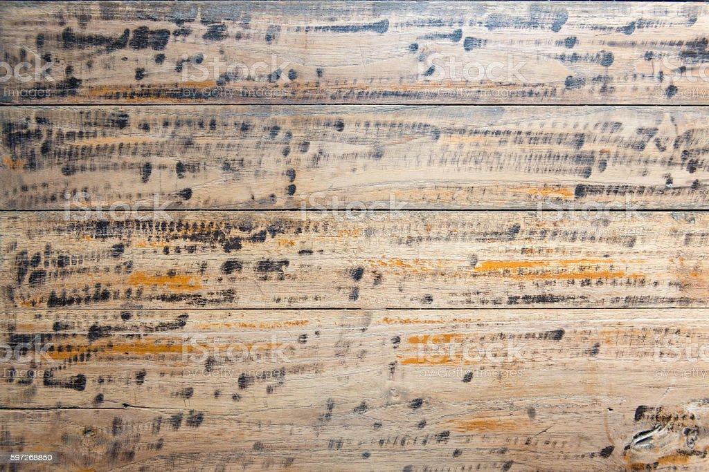 Pattern wooden plank stock photo