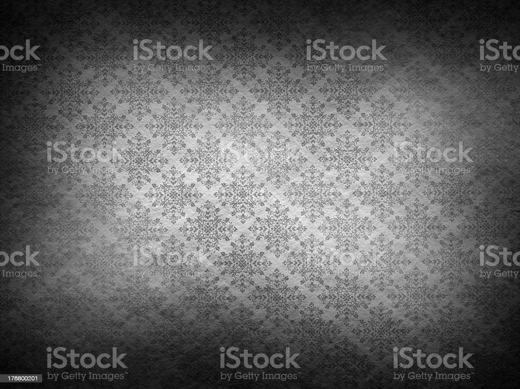 Patterned wallpaper background royalty-free stock photo