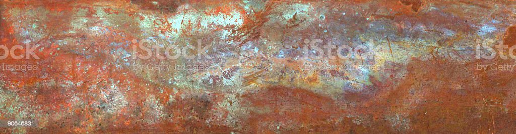 Patterns of corrosion royalty-free stock photo