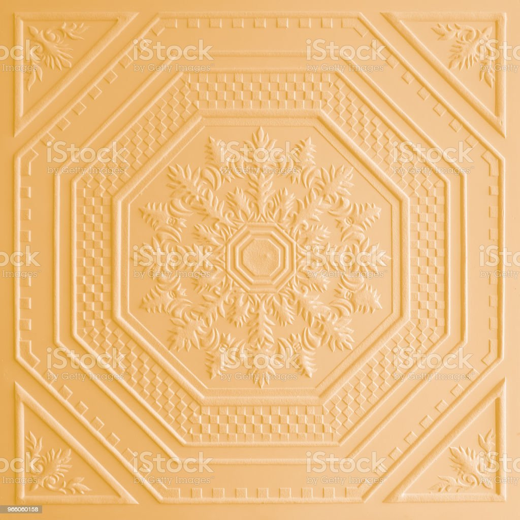 Patterns on the ceiling gypsum sheets - Стоковые фото Абстрактный роялти-фри