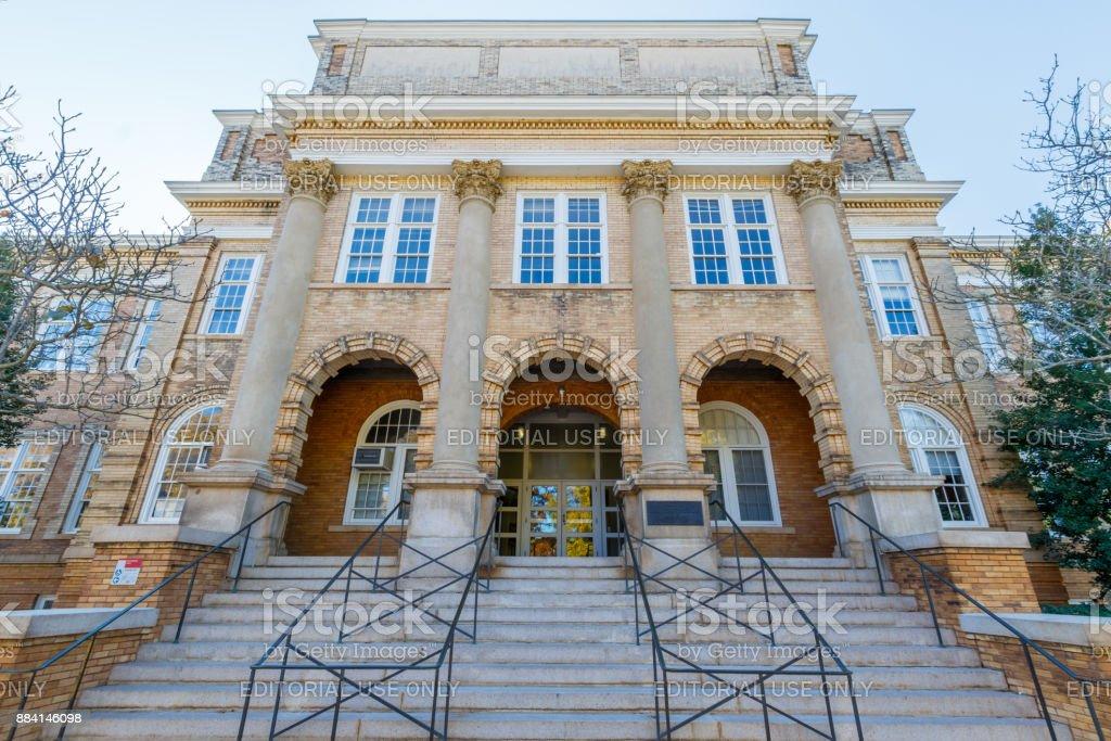 Patterson Hall at NC State University stock photo