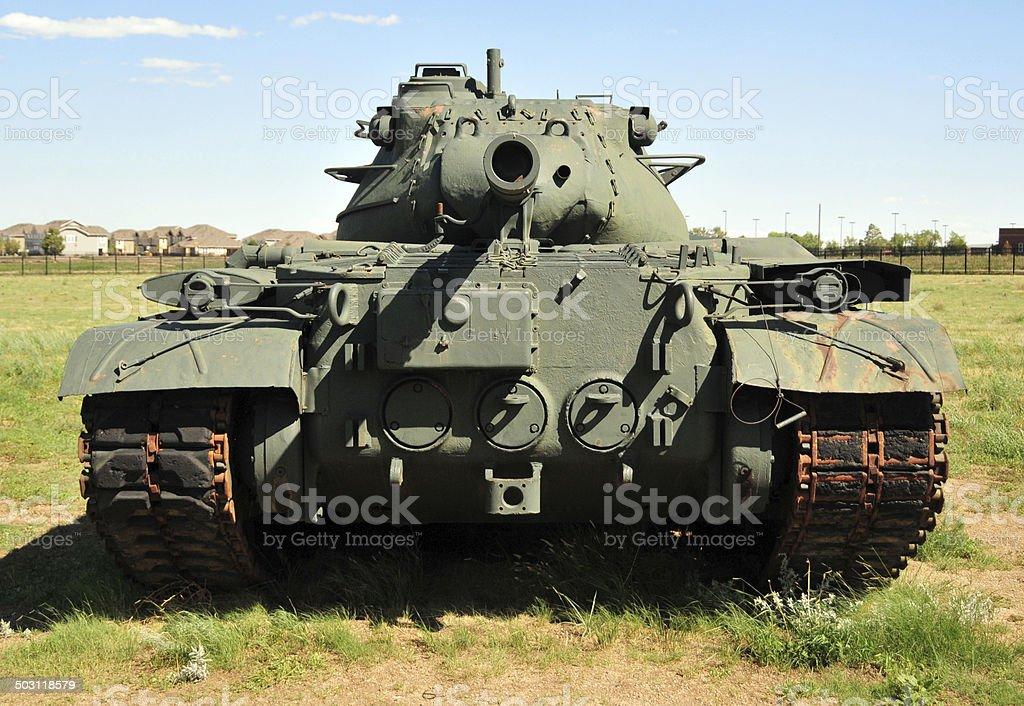M47 Patton tank stock photo
