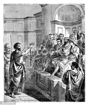 Paul before King Agrippa